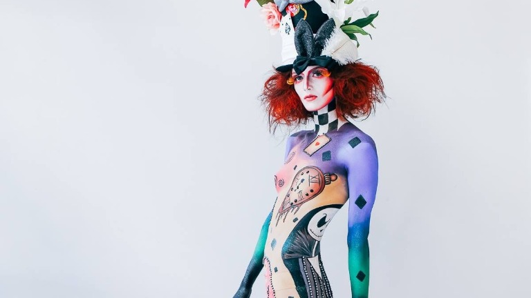 Artistic Make-up Body Painting